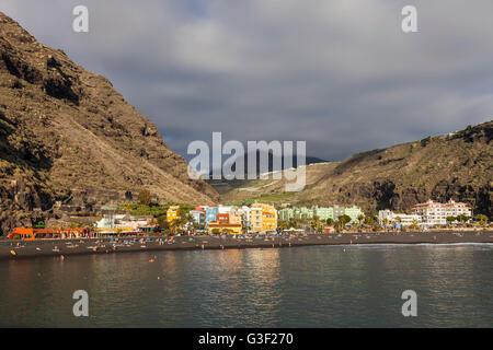 Puerto de Tazacorte, La Palma, Kanarische Inseln, Spanien, Europa - Stockfoto