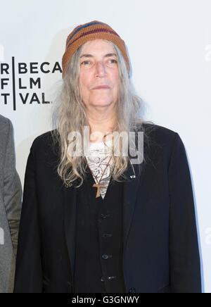 New York, Vereinigte Staaten von Amerika. 14. April 2016. Patti Smith besucht Tribeca Gespräche beim Tribeca Filmfestival - Stockfoto