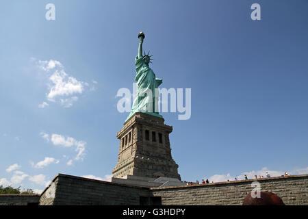 Die Freiheitsstatue in New York City, Vereinigte Staaten von Amerika - Stockfoto