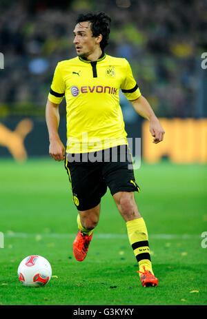 Mats Hummels, Borussia Dortmund - Borussia Mönchengladbach 5:0, Signal-Iduna-Park Dortmund, Nordrhein-Westfalen - Stockfoto