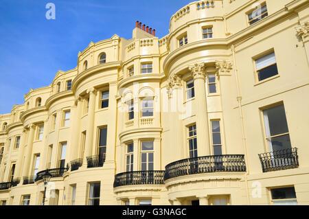 Brunswick Terrasse, Hove, Brighton & Hove, East Sussex, England, UK - Stockfoto