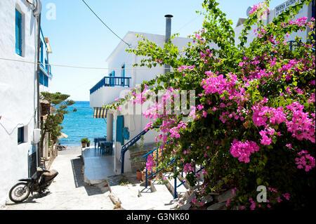 Das Dorf von Lentas, Süd-Kreta, Griechenland, Europa - Stockfoto