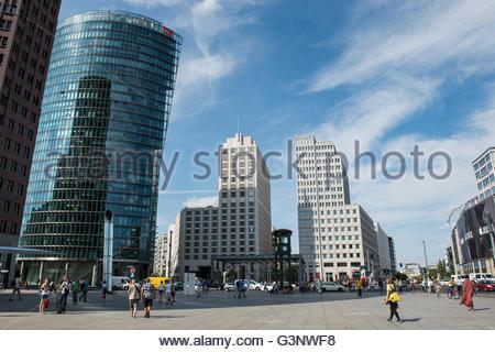 Deutschland, Berlin, Potsdamer Platz - Stockfoto
