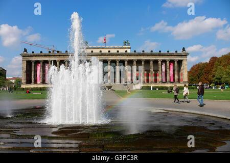 Altes Museum, Lustgarten, Berlin-Mitte. - Stockfoto