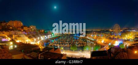 GB - DEVON: Torquay Hafen bei Nacht - Stockfoto