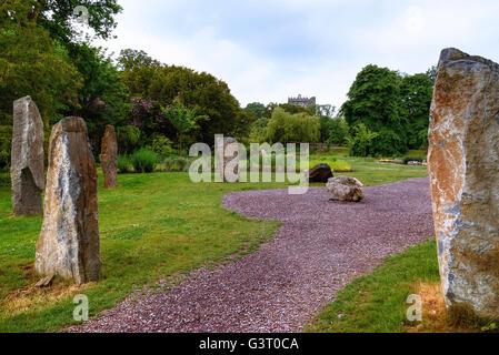 Blarney Castle, Cork, Irland - Stockfoto