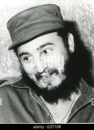Kubanische Premier Fidel Castro. - Stockfoto