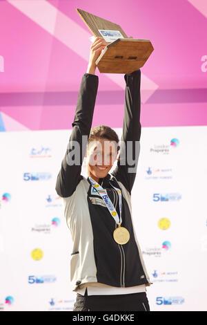 Moderne Penathlon - 2011-WM-Finale - Tag zwei - Greenwich Park - Stockfoto