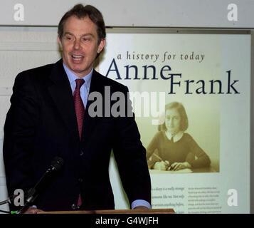 Blair-Holocaust-Gedenktag - Stockfoto