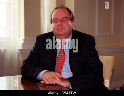 Millennium Dome Lord Falconer - Stockfoto