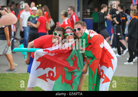 Wales Russland Live