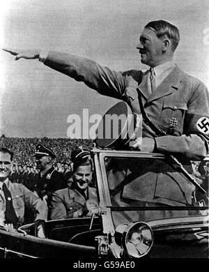 Adolf Hitler - Stockfoto