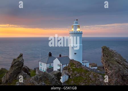 Start Point Lighthouse, Devon, England - Stockfoto