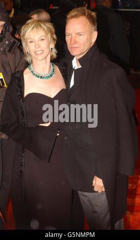 ORANGE BAFTAs Sting und Trudie