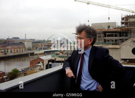 Stephen Byers in Newcastle - Stockfoto