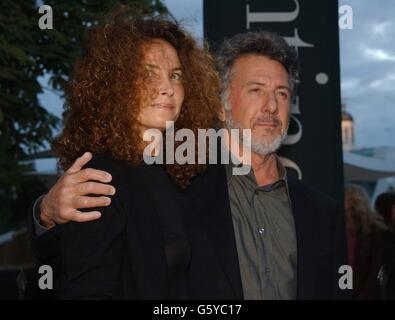 Serpentin Party - Dustin Hoffman - Stockfoto