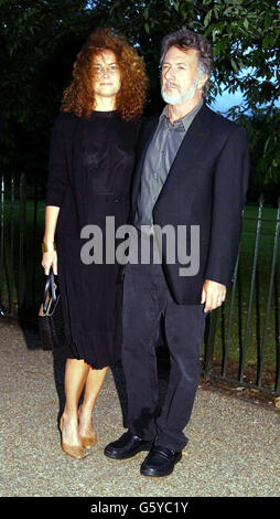 Dustin Hoffman Serpentine Gallery - Stockfoto