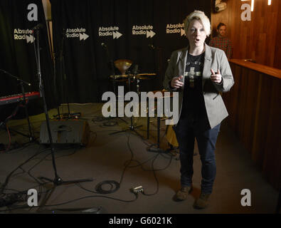 Absolute Radio Session - London tut weh - Stockfoto