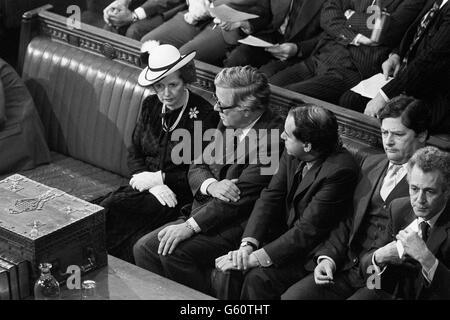 Politik - Zustand-Öffnung des Parlaments - 1983 - Stockfoto
