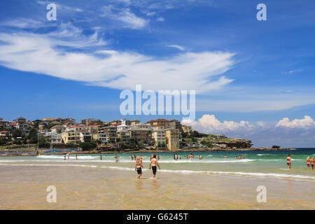 Schöne Aussicht von Bondi Beach in Sydney, Australien - Stockfoto