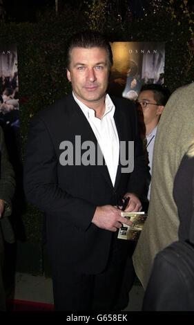 Schauspieler Alec Baldwin kommt zur Premiere von Evelyn im Goldwyn Theatre, Beverly Hills.