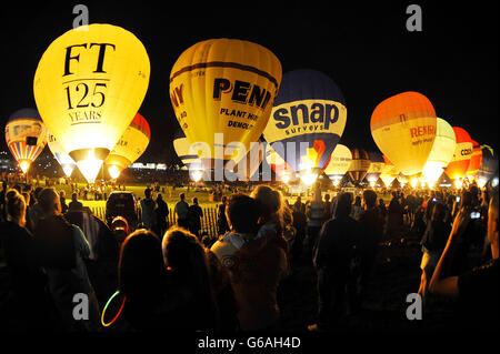 Bristol International Balloon Fiesta 2013 - Stockfoto