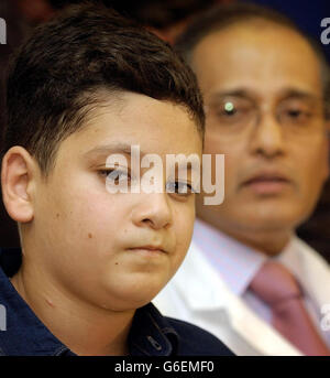 Ali Ismaeel Abass im Roehampton mit Arzt - Stockfoto