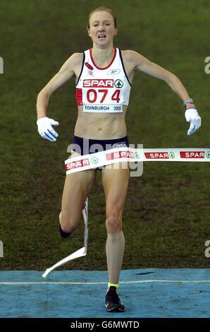 Europäische Crosslauf 2003 - Stockfoto