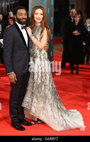 BAFTA Film Awards 2014 - Ankünfte - London Stockfoto