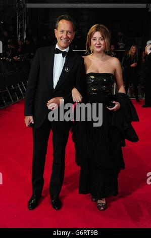BAFTA Film Awards 2014 - Ankünfte - London Stockfoto