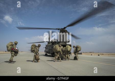 Truppen in Afghanistan - Stockfoto