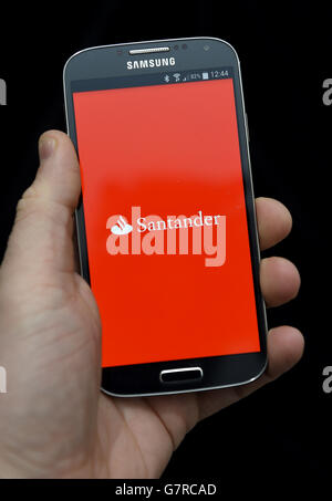 Banking-App-Lager - Stockfoto