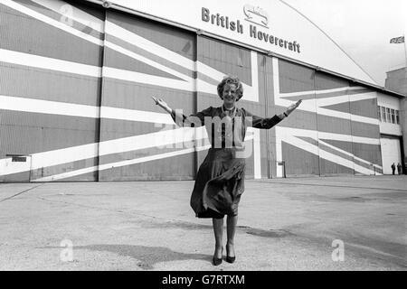 Politik - Unterhauswahlen 1983 - Margaret Thatcher - Isle Of Wight - Stockfoto