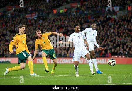 Fußball - UEFA Euro 2016 - Qualifikation - Gruppe E - England V Litauen - Wembley-Stadion