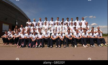 Rudern - Team GB Trainingseinheit - National Trainingscenter - Stockfoto