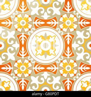 Vektor Hintergrund der weichen geometrischen nahtlose Blumenmuster - Stockfoto