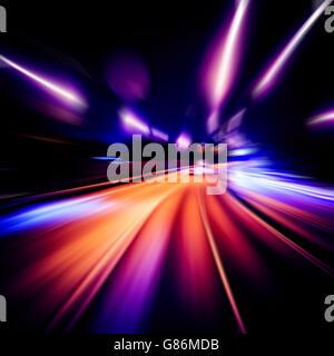 Abstrakte Geschwindigkeit Hintergrund - Stockfoto