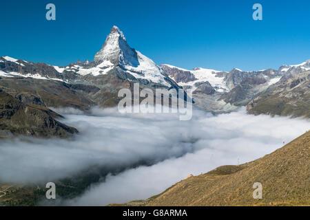Matterhorn, Zermatt, Schweiz - Stockfoto