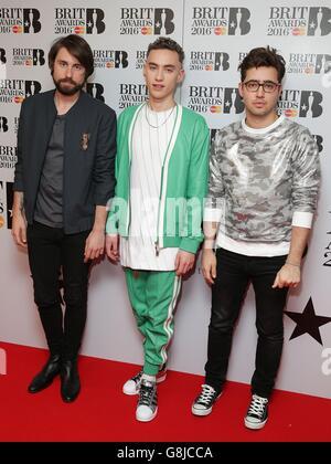 Brit Awards 2016 Nominierungen - London Stockfoto