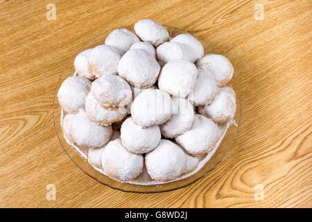 """Kahk fest """"Kahk El Eid"""" - Übersetzung: Cookies von El Fitr islamischen fest - Stockfoto"""