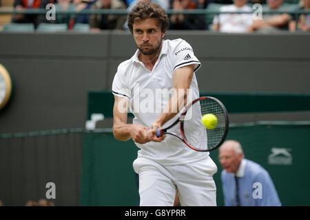 London, UK. 30. Juni 2016. Gilles Simon France die Wimbledon Championships 2016 All England Tennisclub, Wimbledon, - Stockfoto