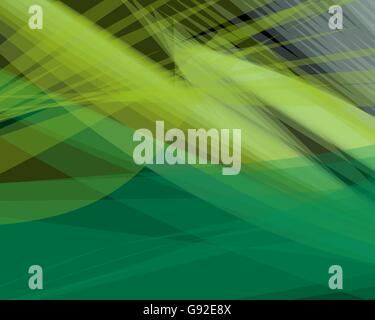 Abstrakte grüne vector Hintergrund Banner, transparente wave Linien formen für Broschüre, Website, Flyer Design - Stockfoto
