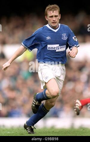 Fußball - FA Carling Premiership - Everton V Arsenal - Stockfoto