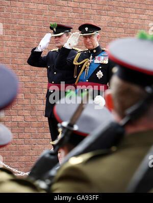 Armee Regimente Fusion - Stockfoto