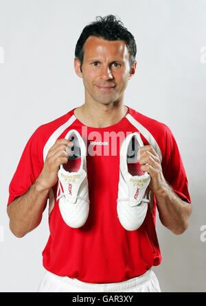 Fußball - Ryan Giggs Fototermin - Manchester - Stockfoto