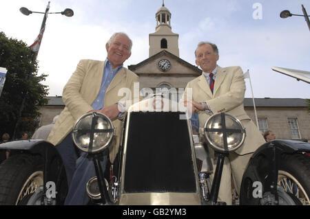 Denkmal für 80 Jahre Ards TT - Stockfoto