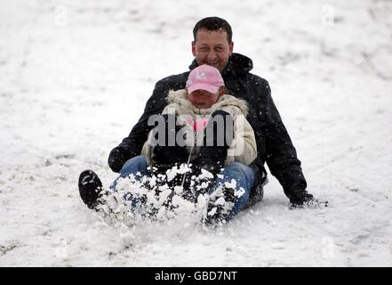 Winterwetter - Stockfoto