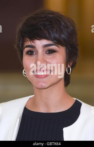 Megan Montaner, spanische Schauspielerin, Rom, Italien, 29. März 2016 Kredit © Fabio Mazzarella/Sintesi/Alamy Stock - Stockfoto