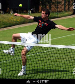 Tennis - Wimbledon Championships 2009 - Tag 7 - der All England Lawn-Tennis and Croquet Club - Stockfoto