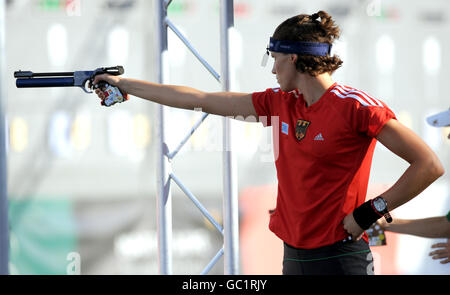 Leichtathletik - WM moderner Fünfkampf - Tag vier - London - Stockfoto